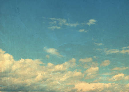 fragmentary: Vintage sky and clouds Stock Photo