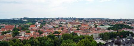 Vilnius panorama, Lithuania Stock Photo - 20959878