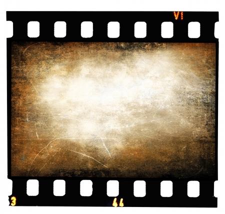 Grunge filmstrip texture