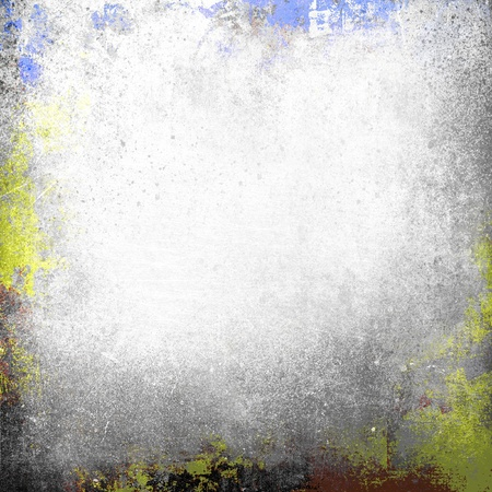 Paint splatter grunge frame Stock Photo - 20952760