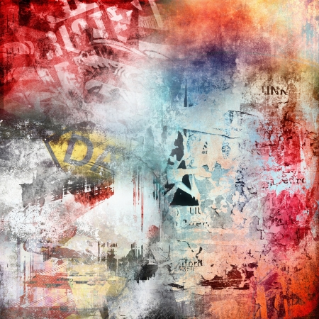 Grunge colorful background photo