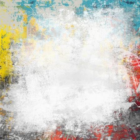 Grunge splatter paint background Stock Photo - 20952780