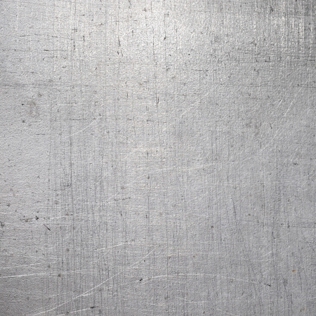 textuur: Scratched metalen structuur Stockfoto