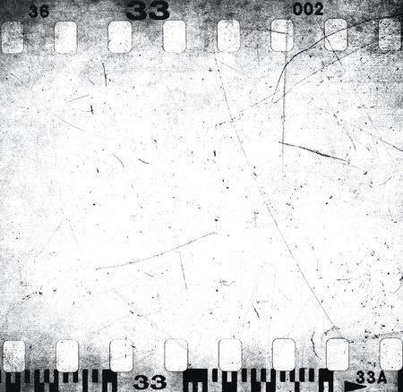 Zerkratzt Textur Filmstreifen Standard-Bild