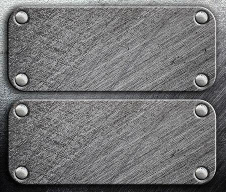 riveted metal: Riveted metal background