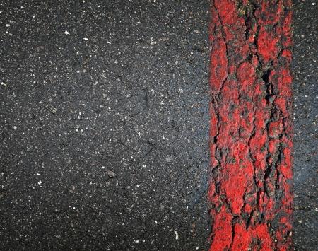 asphalt road: Cracked asphalt road texture Stock Photo