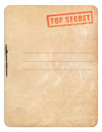 トップの秘密のフォルダー 写真素材