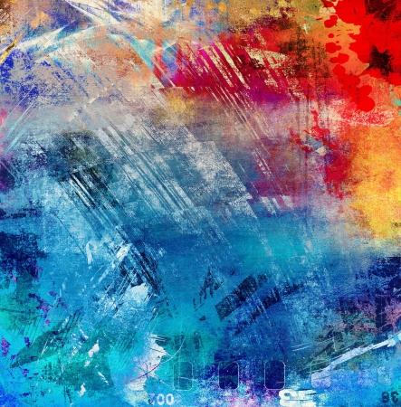Abstract grunge illustratie