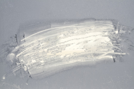 Frosted glass, Ice frame background photo