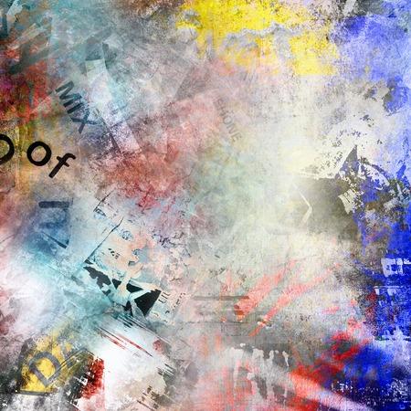 graffiti brown: Grunge colorful background Stock Photo
