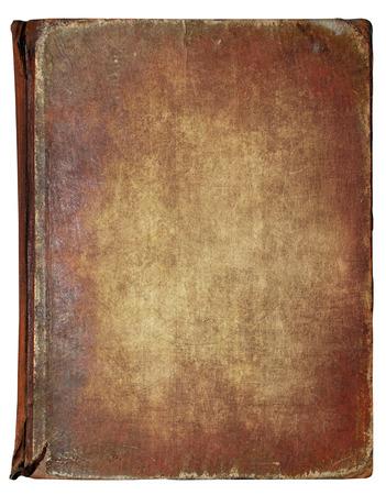 libros antiguos: Portada del libro aislado en fondo blanco