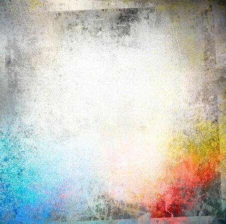 spraypaint: Color grunge frame