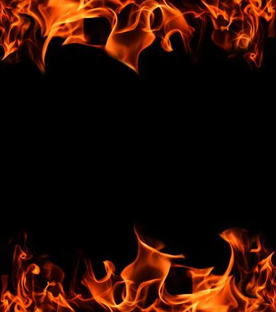 Flame frame