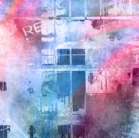graffiti brown: Abstract grunge illustration