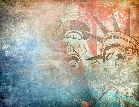 fundo grunge: Fundo grunge Am�rica Banco de Imagens