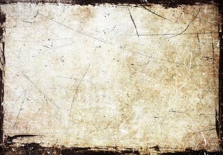 Grunge scratched frame