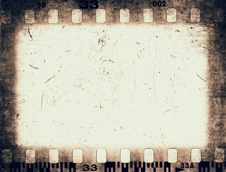 Grunge color filmstrip texture