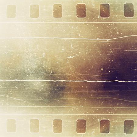Vintage film strip background photo