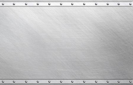 Polished metal plate photo