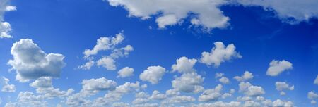 cielo azul: Blue sky panorama