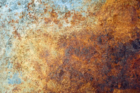 METAL BACKGROUND: Rusted metal background Stock Photo