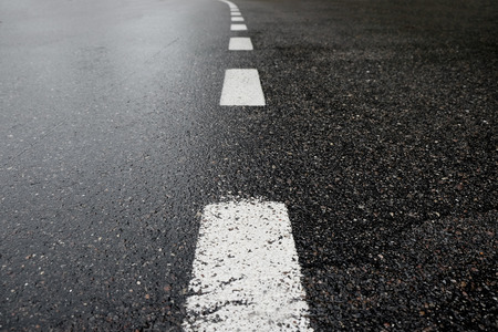 Asphalt road Standard-Bild