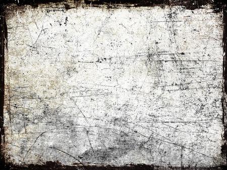 Grunge frame graffiato Archivio Fotografico - 43642794
