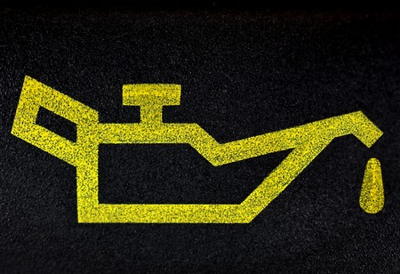 Motorolie symbool Stockfoto