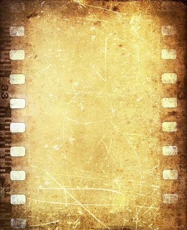 ヴィンテージ filmstip 写真素材