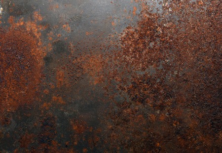 Rusted metal background Stockfoto