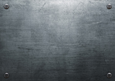 Metal background with rivets 写真素材