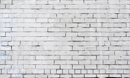 brick texture: White brick wall