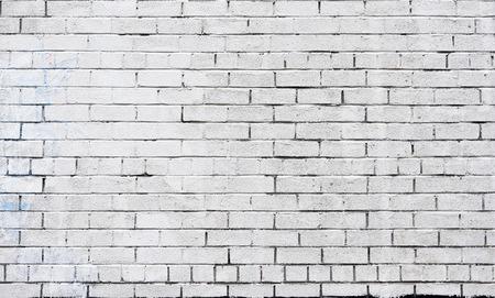 White pared de ladrillo