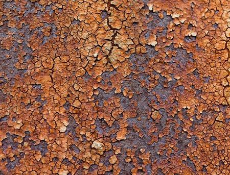 Textura metal oxidado