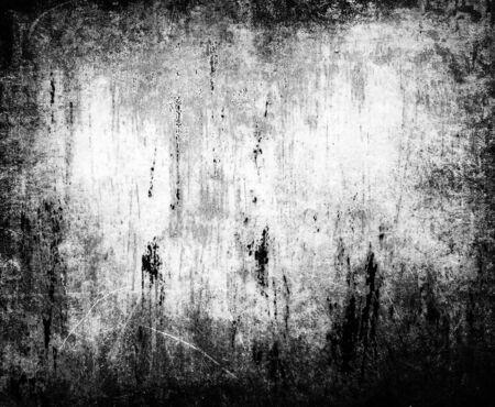 black grunge background: Black and white grunge background