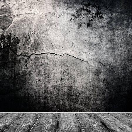 dark: Dark room interior