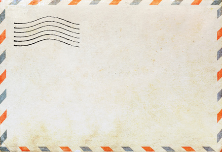 by mail: Air mail envelope