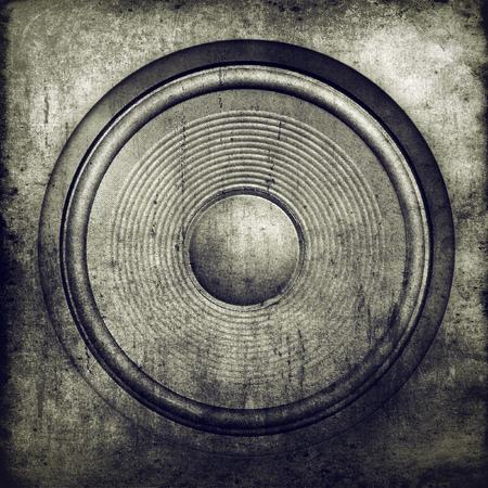 audio speaker: Music background, audio speaker Stock Photo