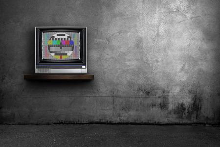 TV en kamer interieur