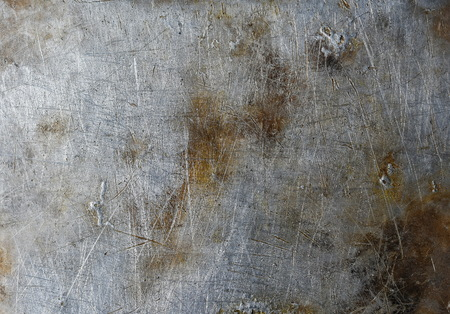 weathered: Scratched metal texture