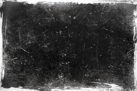 黒と白のグランジ フレーム 写真素材