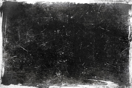 grungy background: Black and white grunge frame