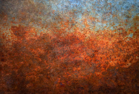 rusted background: Rusted metal background Stock Photo