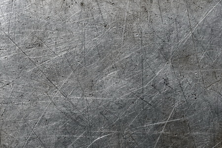 scratched metal: Scratched aluminum background Stock Photo