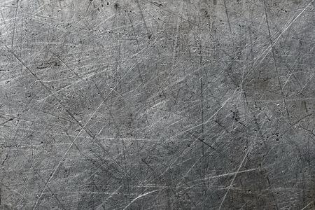 aluminum background: Scratched aluminum background Stock Photo