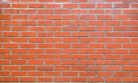 red brick: Brick wall background