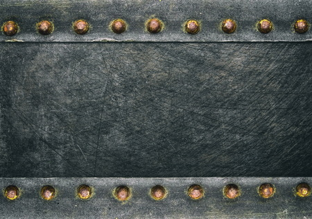 rivets: Grunge frame with rivets