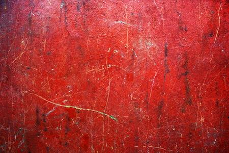 metal grunge: Grunge red metal texture