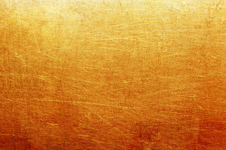 stainless steel sheet: Golden metal background Stock Photo