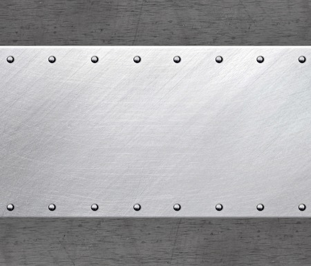 steel: Metal frame with rivets